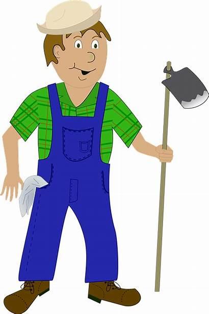 Farmer Worker Agriculture Rural Farm Vector Pixabay