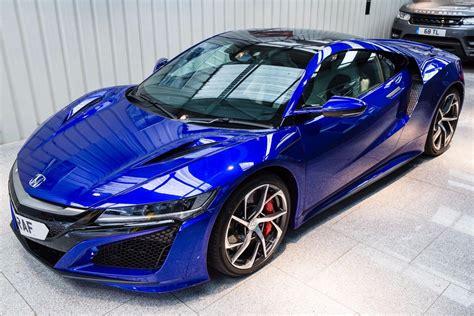 Acura And Honda by Honda Nsx V6 Blue 2017 Ref 3361730
