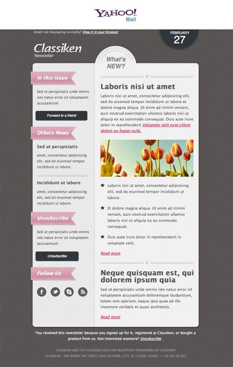 classiken html newsletter template  mail templates