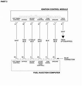 Ignition System Circuit Diagram  1996