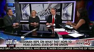 "Rep. Hill joins Freshman Panel on Fox News ""America's News ..."
