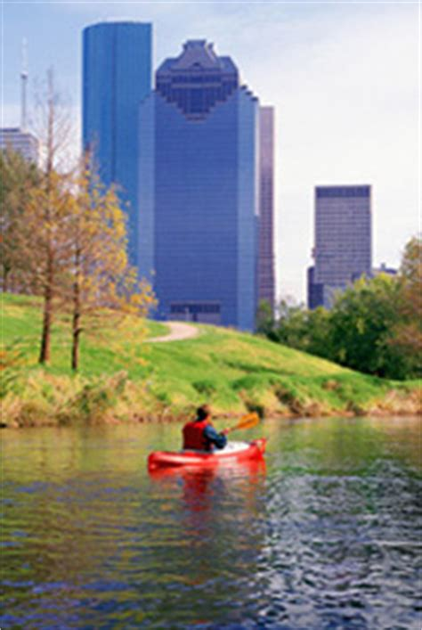 tpwd buffalo bayou texas paddling trails