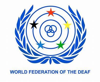 Deaf Federation International Week Sign Rights Language