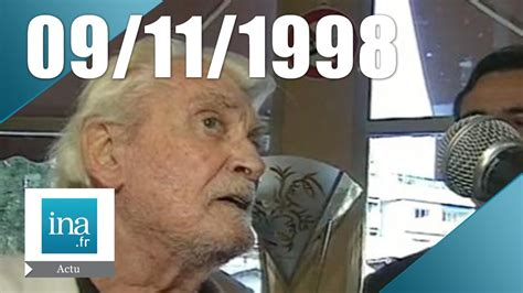 jean gabin mort 20h france 2 du 09 novembre 1998 jean marais est mort