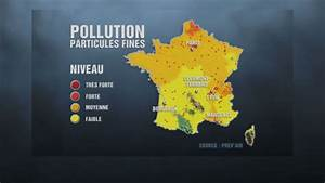 Carte France Pollution : pollution aux particules fines la carte de france vid os mytf1news ~ Medecine-chirurgie-esthetiques.com Avis de Voitures