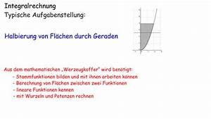 Nullstellen Berechnen Online : fl chen mit integralen berechnen mathematik online lernen ~ Themetempest.com Abrechnung
