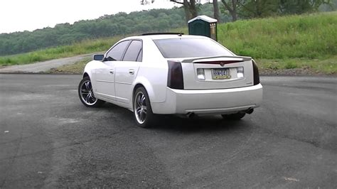 2006 Cts Cadillac by 2006 Cadillac Cts 3 6l With Volant Intake And Gibson