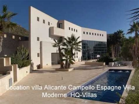 villa de luxe moderne villa de luxe alicante espagne villa moderne et design