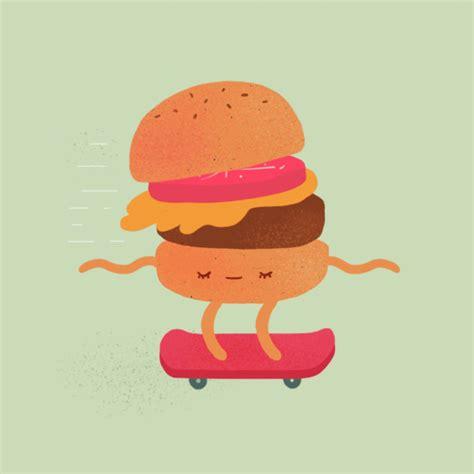 animation cuisine fast food gifs on behance