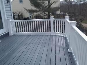 Composite Deck Bench Designs Longevity Vinyl Deck Railing System Patio Deck Designs