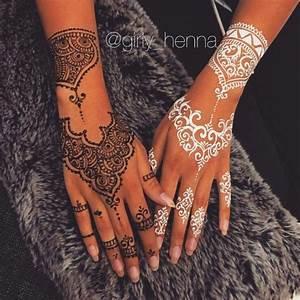 Weißes Henna Tattoo : sadieschriftman mehndi ~ Frokenaadalensverden.com Haus und Dekorationen