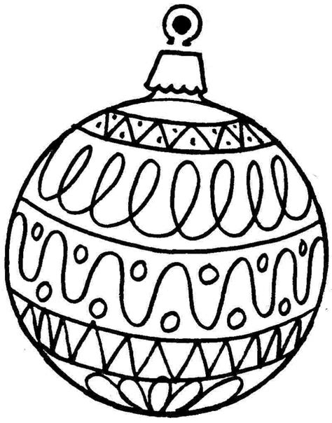 google printable christmas adult ornaments ornament coloring pages coloringsuite