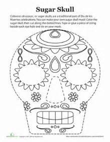 2nd grade math worksheets free printable dia de los muertos mask worksheet education