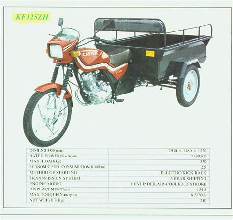 Motos Triporteurs Chine Export
