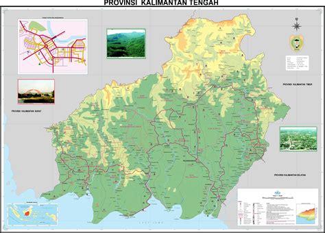 large kalimantan island maps     print