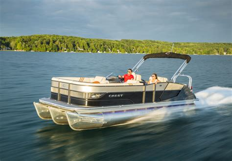 Best Pontoon Boats On The Market by 12 Reasons Crest Pontoon Boats Are The Best In Delaware