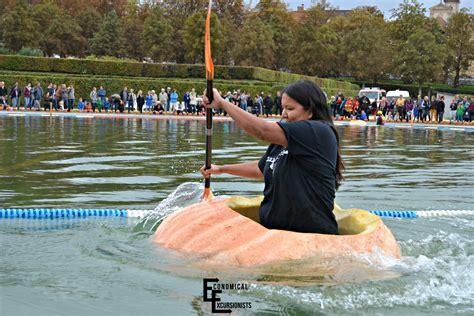 giant pumpkin boat races  economical excursionists