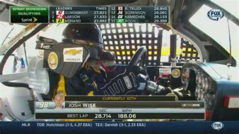 Josh Wise - Dogecar Qualifying in Sprint Showdown ...