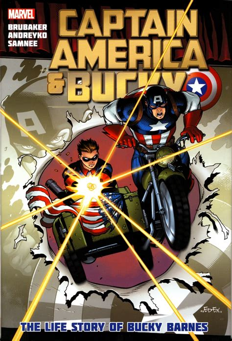 Captain America & Bucky The Life Story Of Bucky Barnes Ebabble