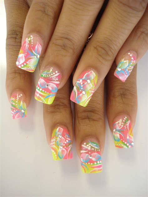 plexiglas design tip nail designs acrylic nail designs