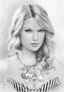 Easy Pencil Drawings of Celebrities