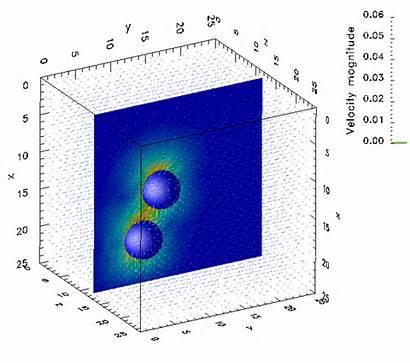 Coupled Particle Fluid Dem Wall Lbm Discrete