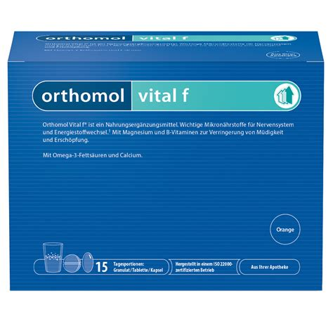 orthomol vital f alternative