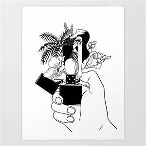 Light My Fire Art Print by Henn Kim