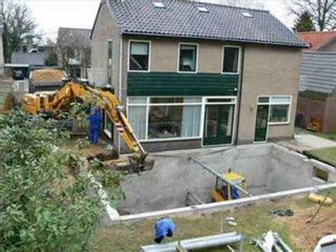 Garage Onderkelderen by Prefab Kelder Prijzen Berekenen Ze Uitbouw Expert