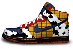 designer nike shoes story s woody gets the nike treatment evolveteam 39 s