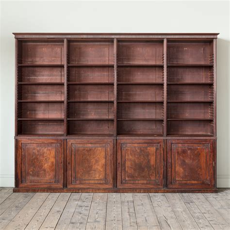 Mahogony Bookcase by A Regency Mahogany Bookcase Most Certainly By Gillows