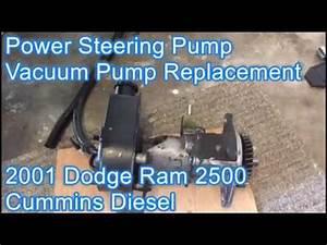 Power Steering And Vacuum Pump Repair Pt1