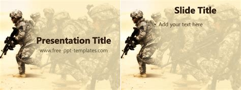 army powerpoint template popular