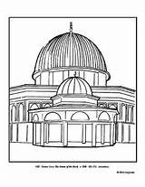Coloring Rock Dome Plan Lesson sketch template