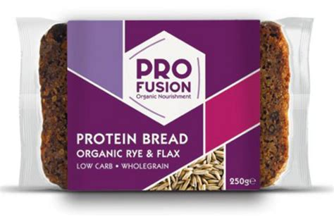 organic  carb high protein bread    profusion