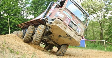 Europa Truck Trial 2018 Erster Lauf In Rakov Potok
