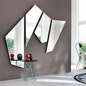 Miroir De Salon : miroir mural salon id es de d coration int rieure french decor ~ Teatrodelosmanantiales.com Idées de Décoration