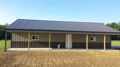 Pole Barn Styles by Pole Buildings Portfolio Milmar Contractors