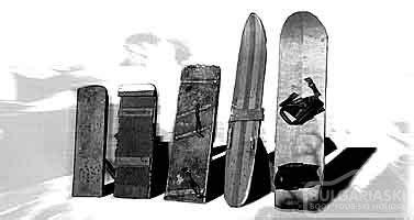History of snowboarding / snowboard