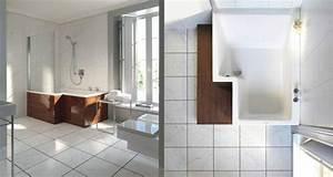 Große Fliesen In Kleinem Bad : badewanne dusche kombination design idee casadsn ~ Bigdaddyawards.com Haus und Dekorationen