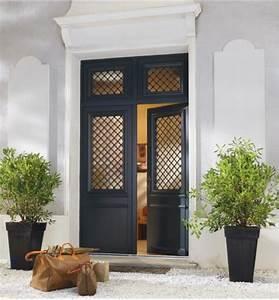 Porte Entree Maison : porte d entree aluminium castorama maison design ~ Premium-room.com Idées de Décoration