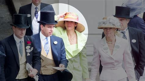 How Prince Andrew and Ghislaine Maxwell's Friendship ...