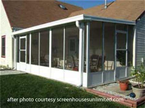 screen porch kits a screen porch kit is a great way to make a porch enclosure