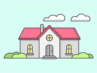 Shapes Basic Mansion Shape Dribbble Graphic Sketch