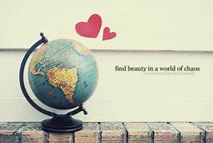 """find beau... World Globe Quotes"