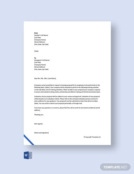 request letter templates  ready