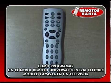 c 211 mo programar un remoto universal general electric ge24914 panacom rm 2415