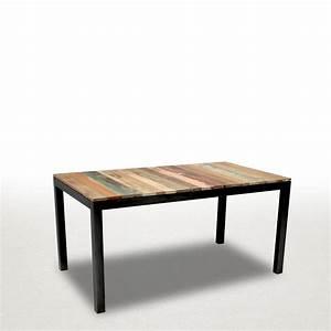 Table A Manger Industrielle : meuble style loft industriel cheap made in meubles la ~ Melissatoandfro.com Idées de Décoration
