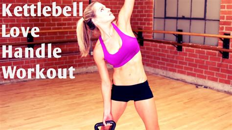 kettlebell core workout abs minute handle strong