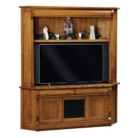 classic sleigh corner tv cabinet shipshewana